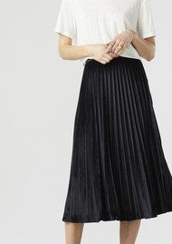 Twist and Tango Fanny Plisse Skirt - Black