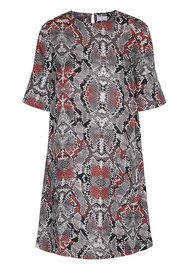 Day Birger et Mikkelsen  Day Gemmez Dress - Dark Tulip