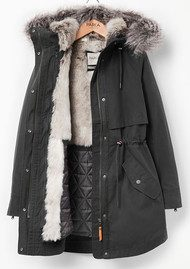 PARKA LONDON Lara 2 in 1 Parka Coat - Sea Kelp
