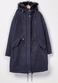 PARKA LONDON Connie 3 in 1 Parka Coat - Navy