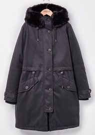 PARKA LONDON Lucinda Essential Parka - Black