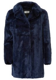 Essentiel Obechian Faux Fur Coat - Night-Sky