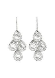 ANNA BECK Chandelier Earrings - Silver