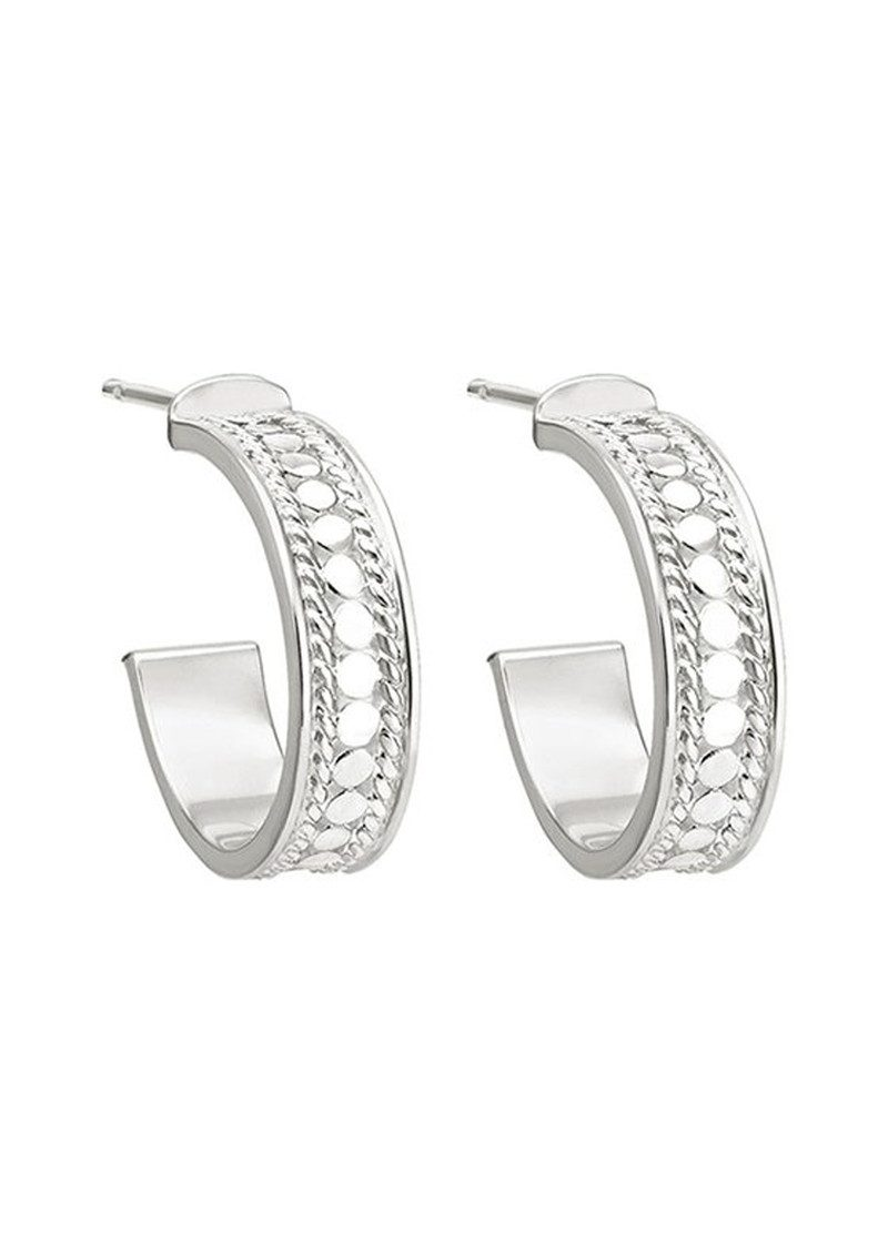 ANNA BECK Hoop Post Earrings - Silver main image