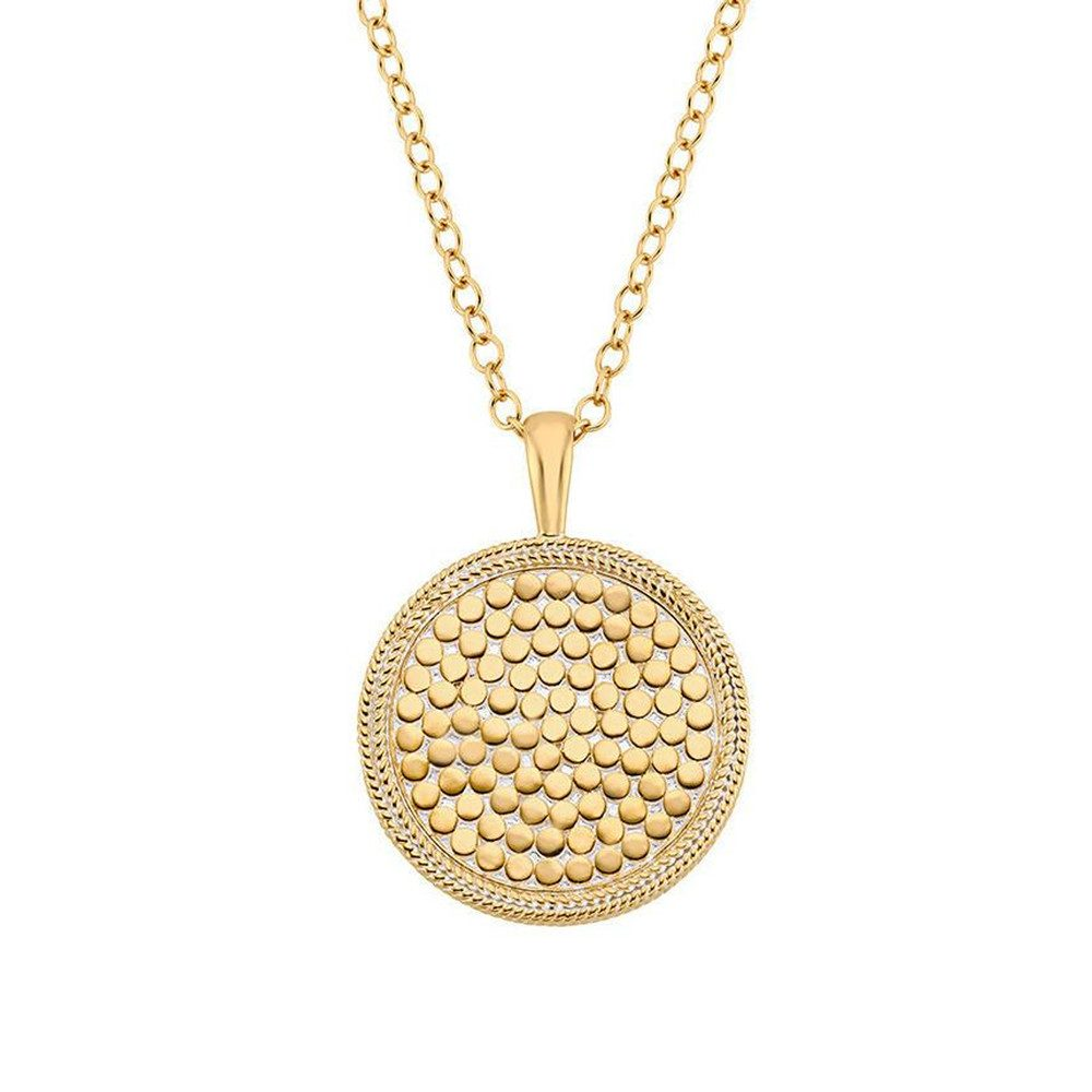 Medallion Necklace - Gold