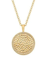 ANNA BECK Medallion Necklace - Gold