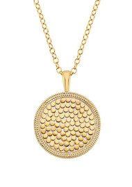 ANNA BECK Medallion Necklace - Gold