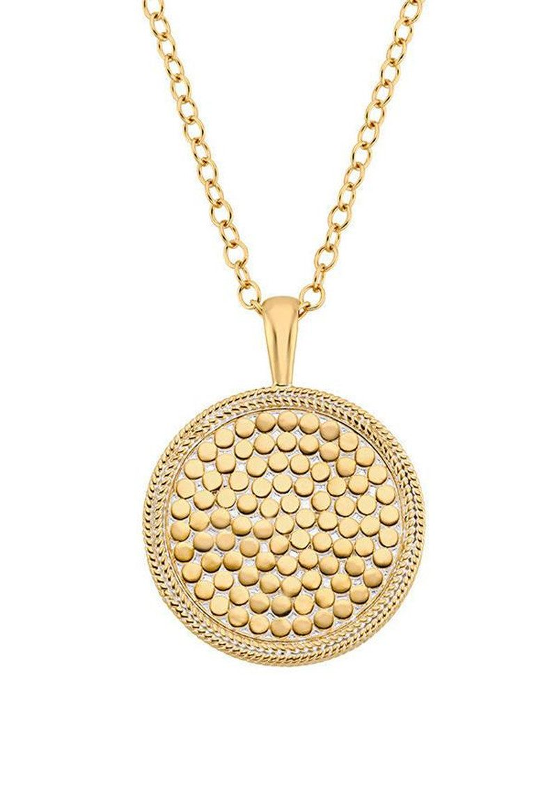 ANNA BECK Medallion Necklace - Gold main image