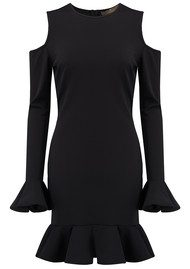 SPACE STYLE CONCEPT Cold Shoulder Dress - Black
