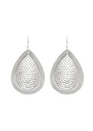 ANNA BECK Teardrop Earrings - Silver