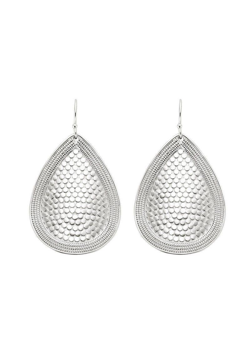 ANNA BECK Teardrop Earrings - Silver main image