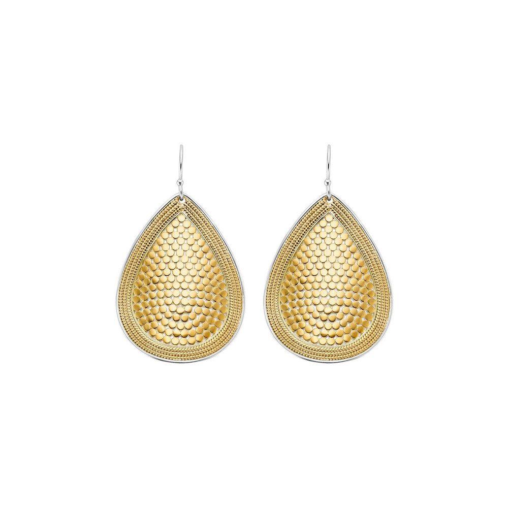 Teardrop Earrings - Gold