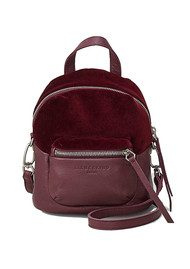 Liebeskind Jessi Velvet Backpack - Wine