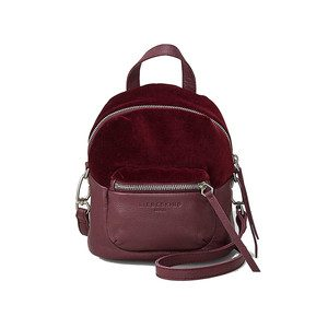 Jessi Velvet Backpack - Wine