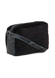 Liebeskind Jolanda Small Velvet Bag - Oil Black
