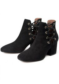Hudson London Krys Suede Boot - Black