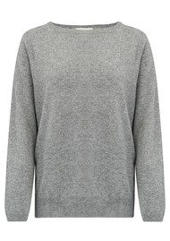 JUMPER 1234 I Love Cashmere Sweater - Mid Grey