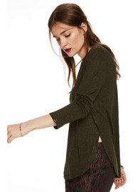 Maison Scotch Long Sleeve Lurex Tee - Colour 20