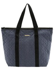Day Birger et Mikkelsen  Day Gweneth QV Flower Velvet Bag - Blue Whirl