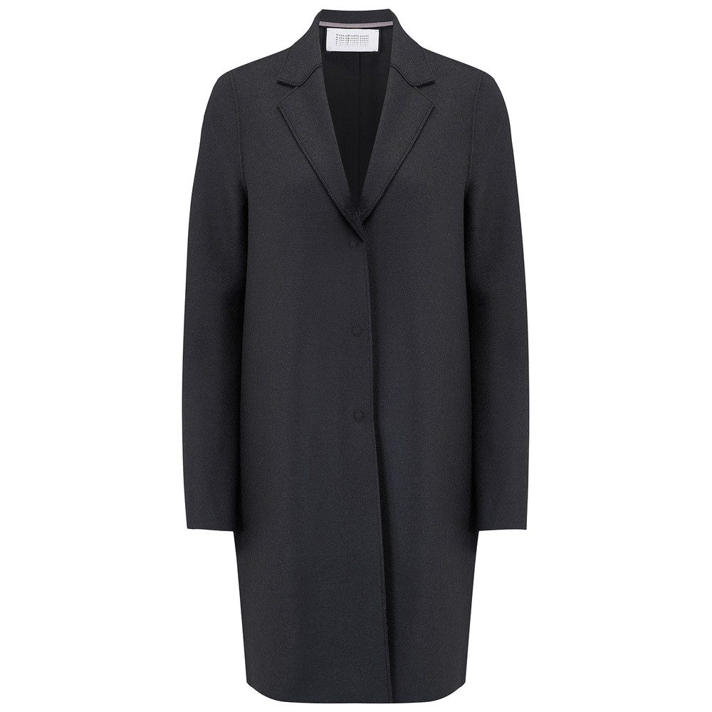 Cocoon Wool Coat - Gunmetal