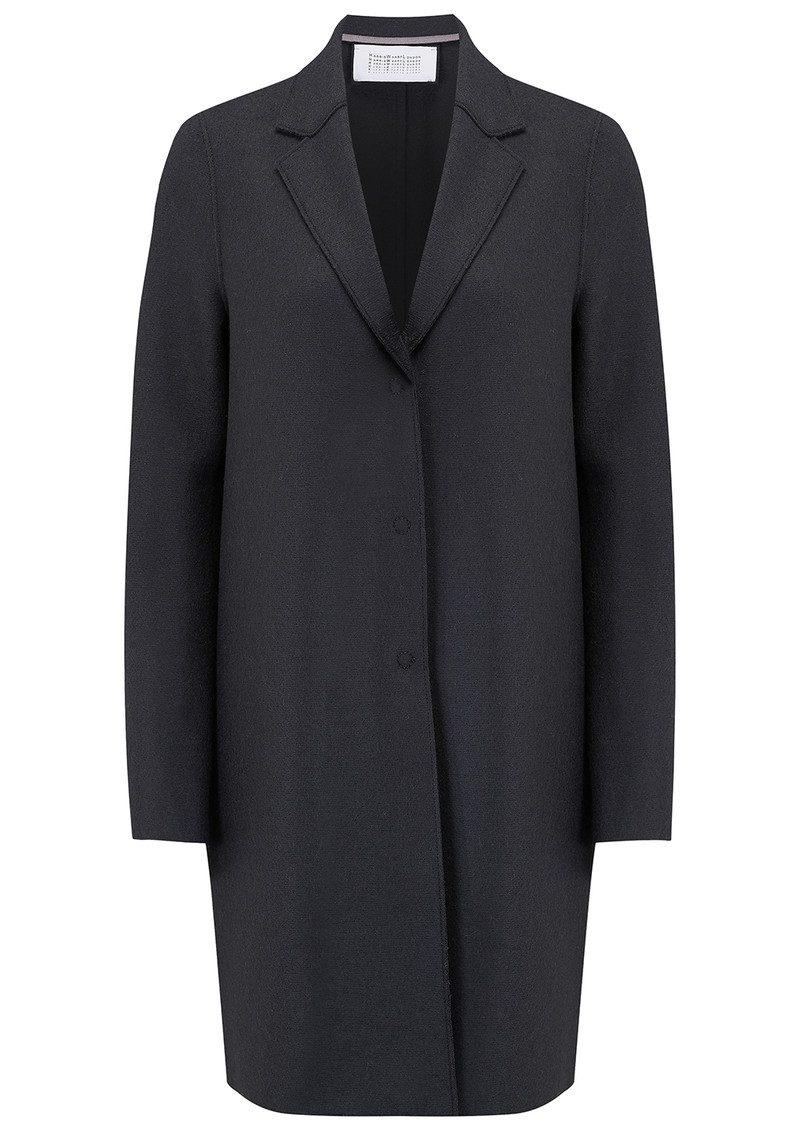 HARRIS WHARF Cocoon Wool Coat - Gunmetal main image