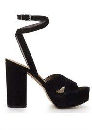 Sam Edelman Mara Platform Sandal - Black