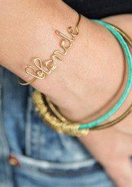 ATELIER PAULIN Blonde Bracelet - Gold