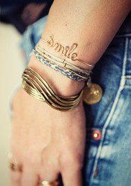 ATELIER PAULIN Smile Bracelet - Gold