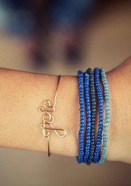ATELIER PAULIN Love Bracelet - Silver
