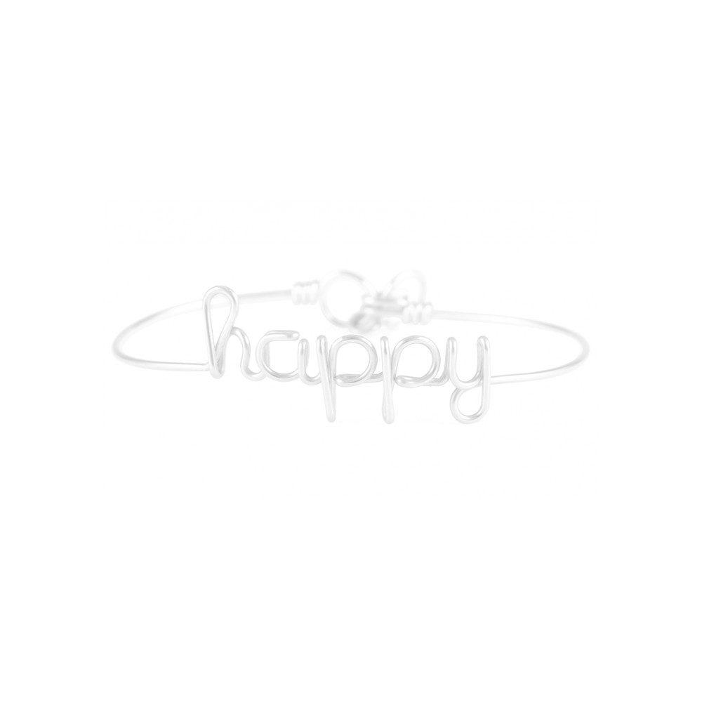 Happy Bracelet - Silver