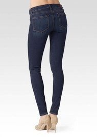 Paige Denim Edgemont Mid Rise Skinny Jeans - Nottingham