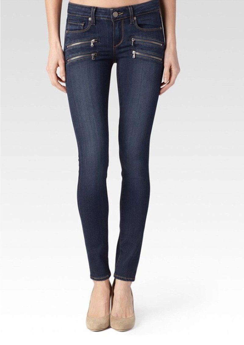 4049b6ab Paige Denim Edgemont Mid Rise Skinny Jeans - Nottingham