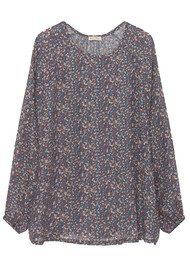 American Vintage Axiroad Long Sleeve Printed Top - Bunch