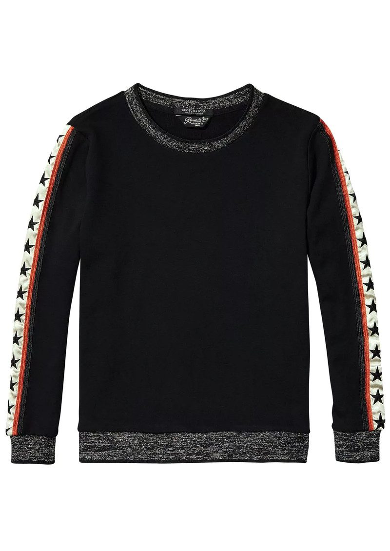 Maison Scotch Relaxed Fit Star Sweater - Colour 08 main image
