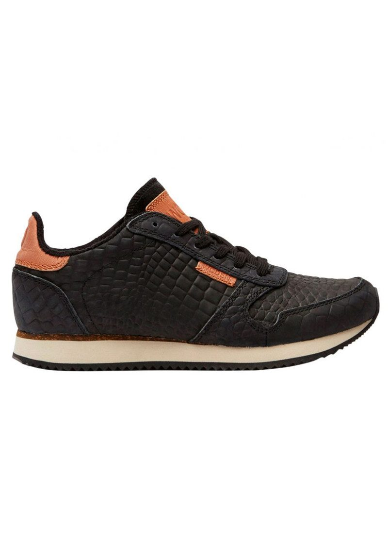 WODEN Ydun Croco Trainers - Black main image