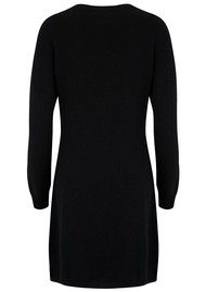 COCOA CASHMERE Plain Sparkle Cashmere Dress - Black