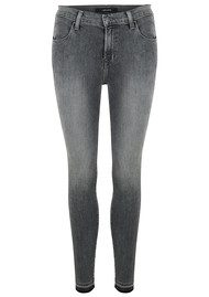 Alana High Rise Crop Skinny Jean - Earl Grey