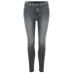 Alana High Rise Crop Skinny Jean - Earl Grey