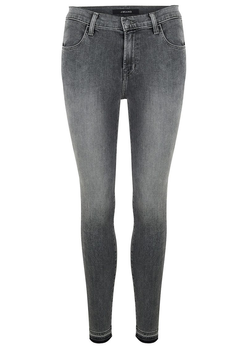 Alana High Rise Crop Skinny Jean - Earl Grey main image