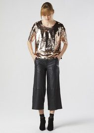 Twist and Tango Darcy Sequined Top - Bronze