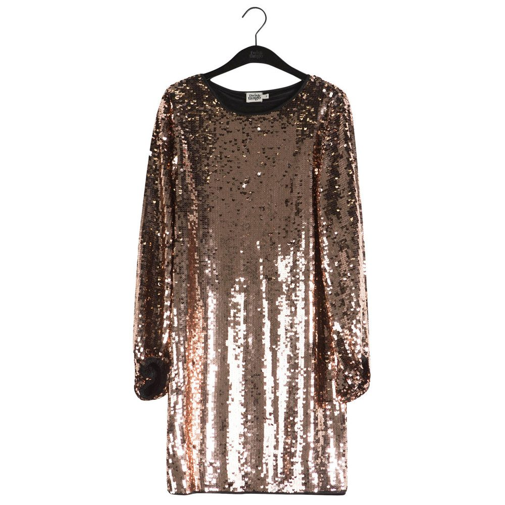 Darcy Sequined Dress - Bronze