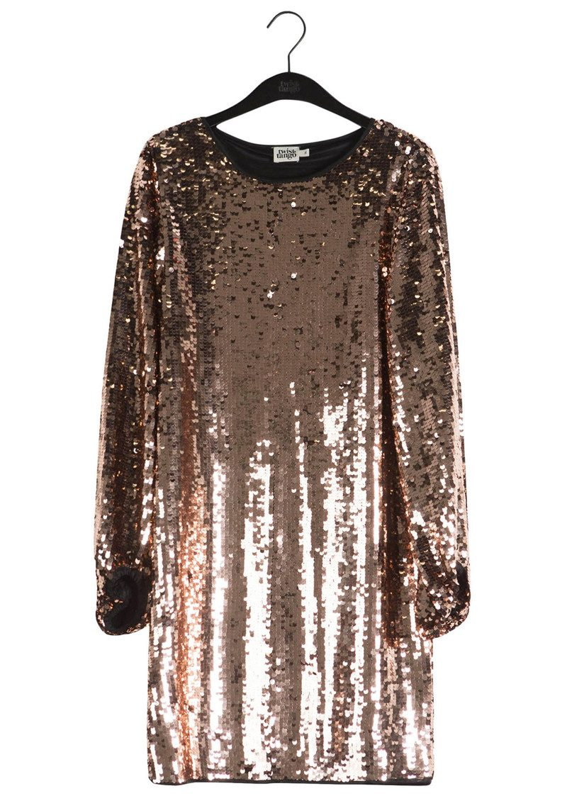 Twist and Tango Darcy Sequined Dress - Bronze main image