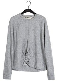 Twist and Tango Adele College Sweater - Mid Grey