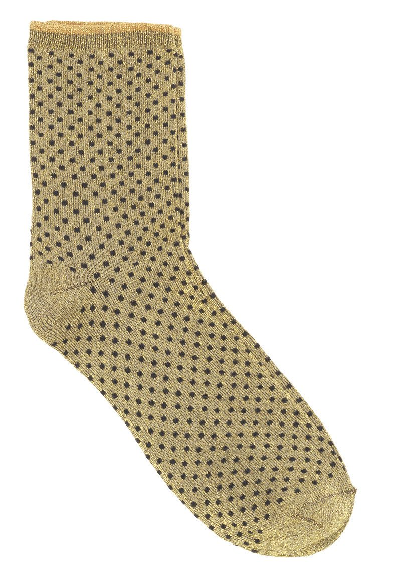 DINA SMALL DOTS SOCKS - SAND main image