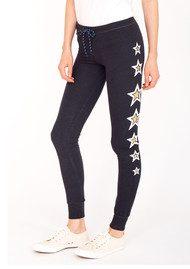SUNDRY Side Stars Skinny Pant - Black