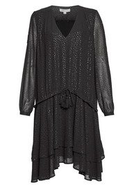 Great Plains Stevie Dobby Dress - Onyx Black