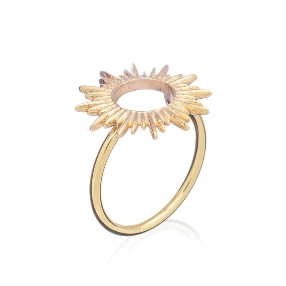 Sunrays Ring - Gold