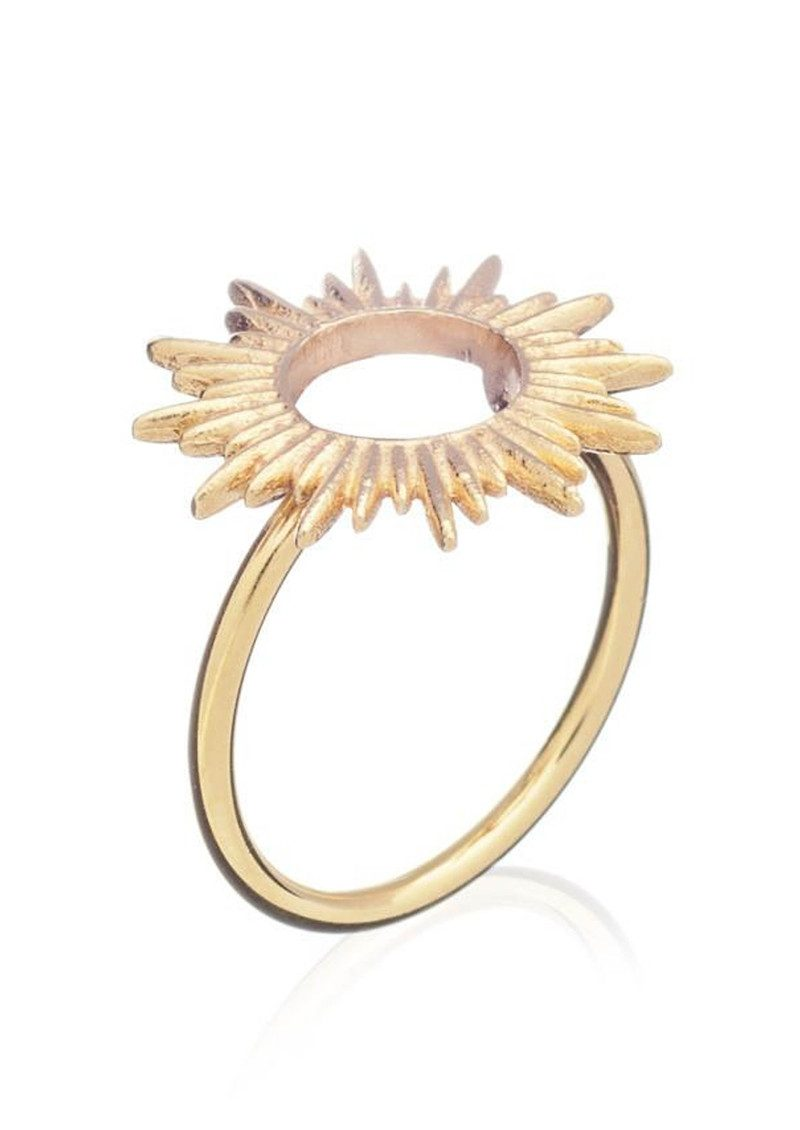 RACHEL JACKSON Sunrays Ring - Gold main image