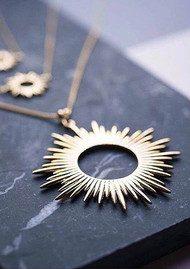 RACHEL JACKSON Sunrays Bracelet - Gold