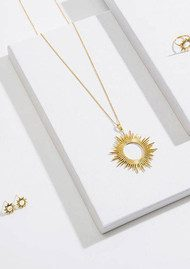 RACHEL JACKSON Sunrays Short Necklace - Gold